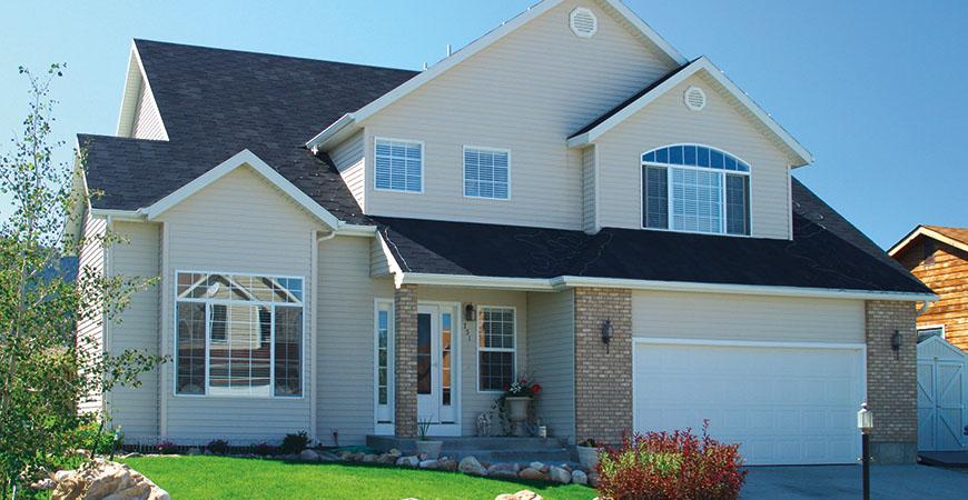 Alside Satinwood 174 Steel Siding Scottish Home Improvements