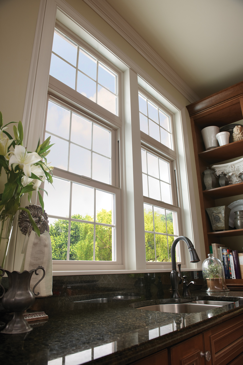 Replacement window bay style aurora colorado1 scottish for Wood windows colorado
