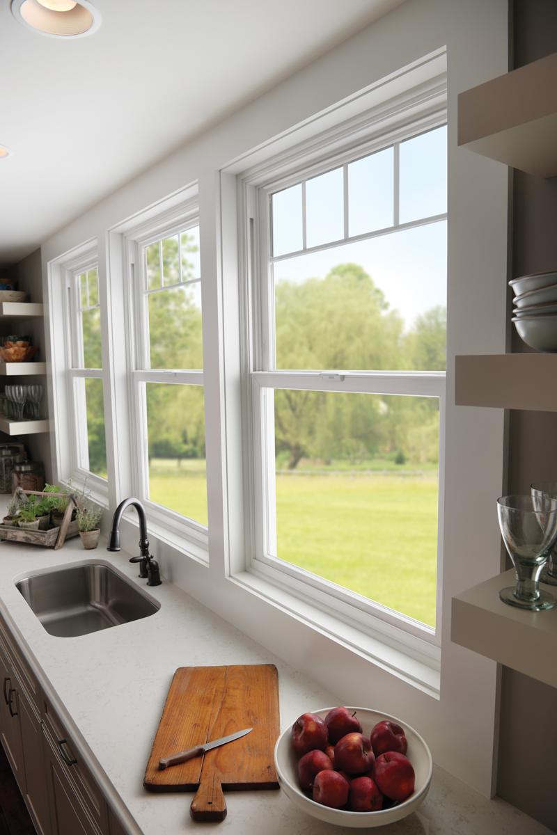 Tuscany vinyl windows denver for Vinyl windows denver