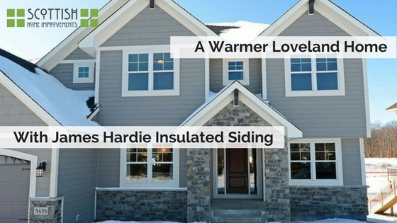 James Hardie Insulated Siding loveland