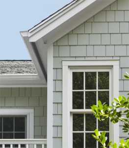 Hardie shingle siding