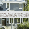 Best Practices for Hiring a Siding Contractor in Washington Park