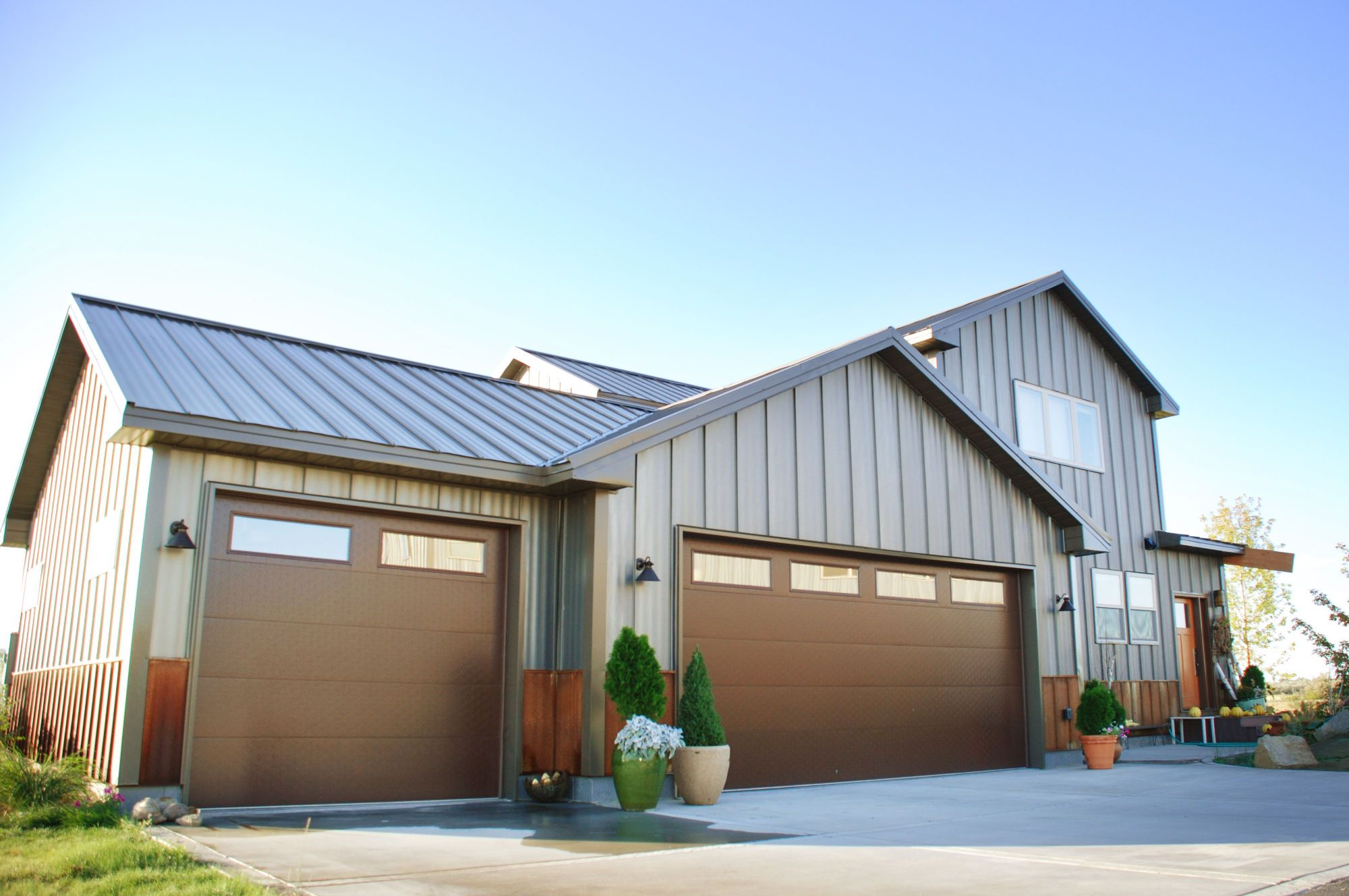 modern metal siding denver
