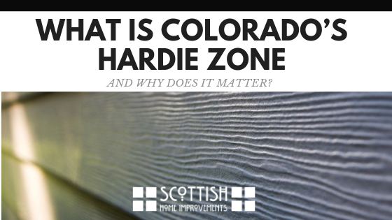 What Is Colorado's Hardie siding zone