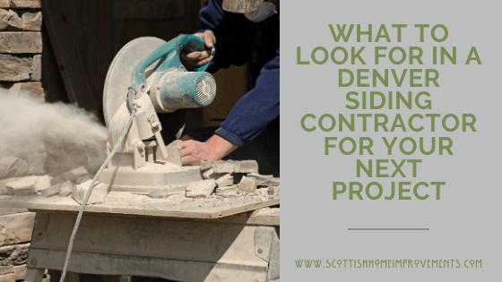 best siding contractors denver