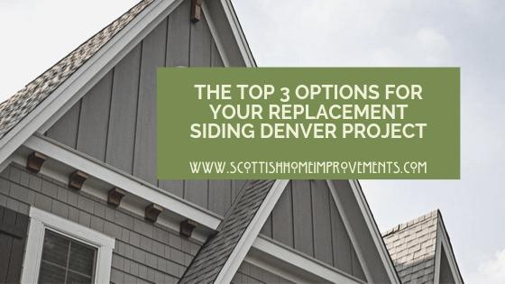 siding choices for Denver homes