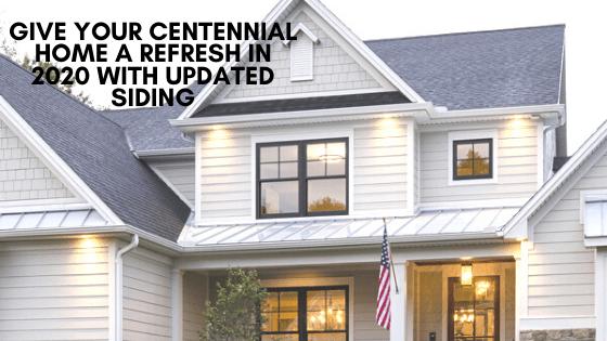 updated siding centennial