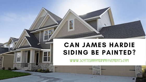 can james hardie be painted Centennial