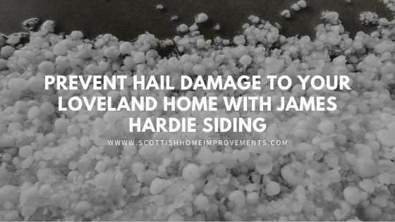 hail damage james hardie siding loveland
