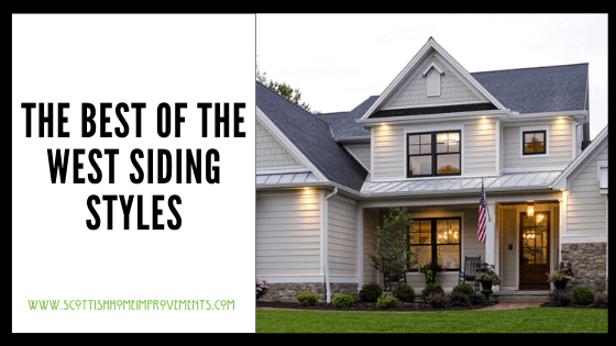 popular west coast siding styles
