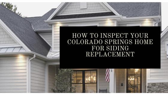 siding replacement colorado springs