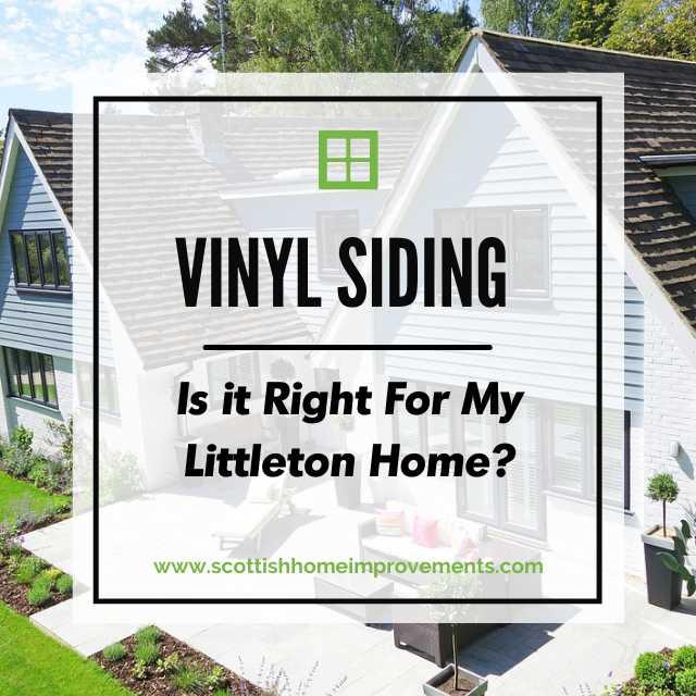 Vinyl Siding for Littleton Homes